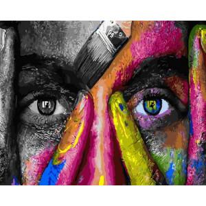 Картина по номерам 40х50 GX 30483 Взгляд художника 40x50 см