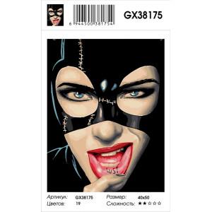 """GX38175 Картина по номерам """"Кошачий взгляд"""" 40х50 см"""