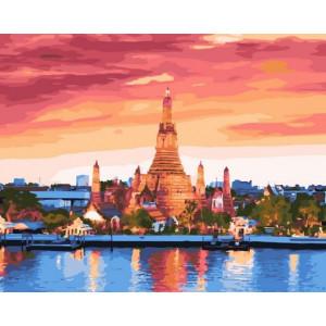 "MCA1397 Картина по номерам ""Бангкок"", 40х50 см"