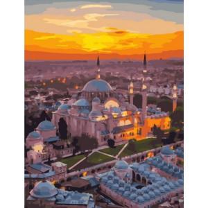 """MCA1420 Картина по номерам """"Стамбул - город контрастов"""", 40х50 см"""