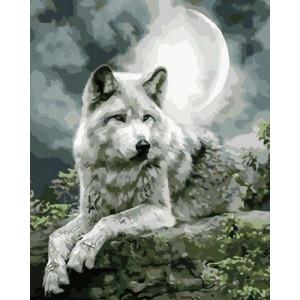 Картина по номерам 40х50 GX 21058 Серый призрак