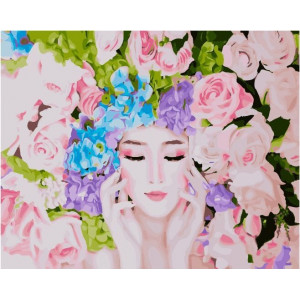 """GХ21952 Картины по номерам """"Цветочная симфония"""", 40х50 см"""
