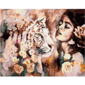 "GX21964 Картина по номерам ""Природа женщины"", 40х50 см"