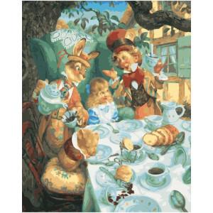 "GX21994 Картина по номерам ""Алиса в зазеркалье"", 40х50 см"