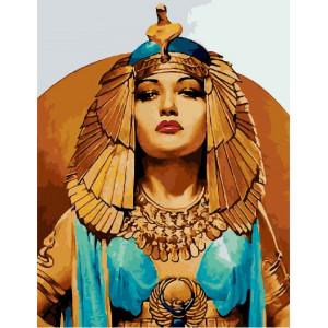 "GХ22027 Картины по номерам ""Царица Египта"", 40х50 см"
