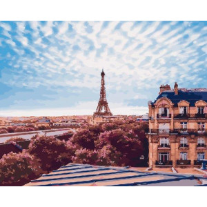 Картина по номерам 40х50 GX 22081 Прекрасный париж