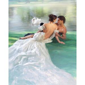 Картина по номерам 40х50 GX 22345 Влюбленные на берегу