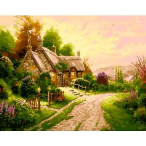 Картина по номерам 40х50 GX 22975 Домик в Зеландии