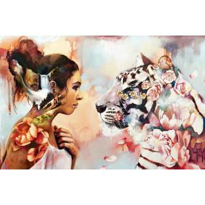 "GX23089 Картина по номерам ""Душа тигрицы"", 40х50 см"