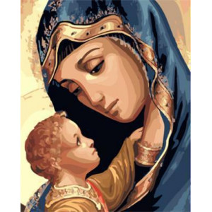"GX23444 ""Дева Мария с ребенком"", 40х50 см"