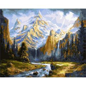 "GX23847 ""Ручей в горах"", 40х50 см"