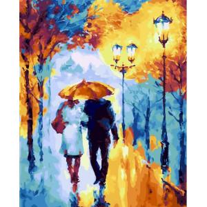 """GХ23874 Картина по номерам """"Вечерняя прогулка в парке"""", 40х50 см"""