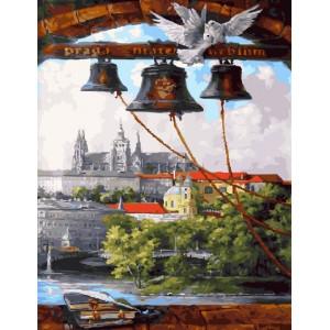 "GX23897 Картина по номерам ""Колокольный звон"",40х50 см"