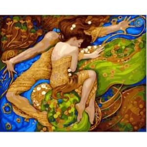 """GХ23266 Картины по номерам """"Сон влюбленных"""", 40х50 см"""