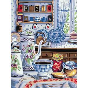 """GX24151 Картина по номерам """"Уютная кухня"""", 40х50 см"""