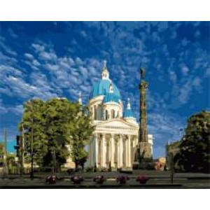 "GX24290 ""Троицкий собор в Санкт- Петербурге"", 40х50 см"