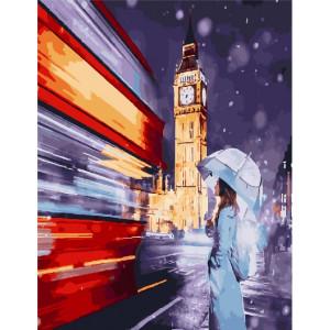 """GX25444 Картина по номерам """"Скорость Лондона"""", 40х50 см"""