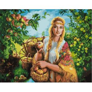 "GХ25543 Картина по номерам ""Яблочный Спас"", 40х50 см"