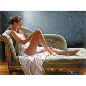"""GX26798 """"Девушка на софе"""", 40х50 см"""