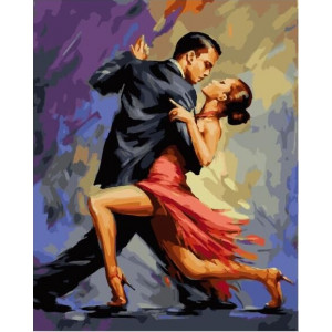 "GХ23249 Картины по номерам ""Танго"", 40х50 см"