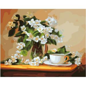 """GX5633 Картина по номерам """"Чай с жасмином"""", 40х50 см"""