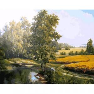Картина по номерам GX 7817 Одинокое дерево 40*50 см
