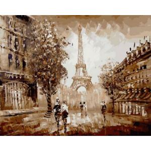 Картина по номерам 40х50 GX 9755 Париж, Париж… 40x50 см