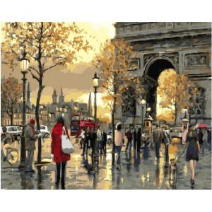 "GХ21173 Картины по номерам ""Вечерний Лондон"", 40х50 см"
