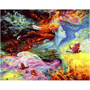 "GX21437 Картина по номерам ""Фантастический мир"", 40х50 см"
