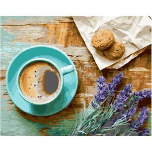 """GX21514 Картина по номерам """"Лавандовое утро"""", 40х50 см"""