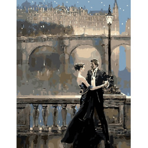"GХ21765 Картины по номерам ""Вечернее танго"", 40х50 см"