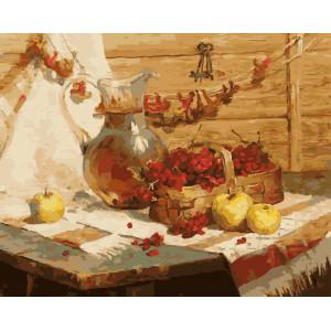 """GX5707 Картина по номерам """"Осенний урожай"""", 40х50 см"""
