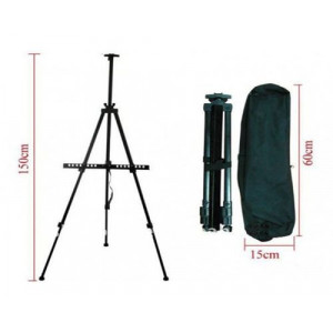 871034 Мольберт телескопический, складной - купить недорого в интернет магазине
