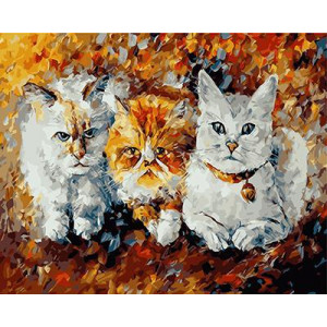 "GХ3958 ""Три кота"" Афремов , 40х50 см купить в Омске недорого"