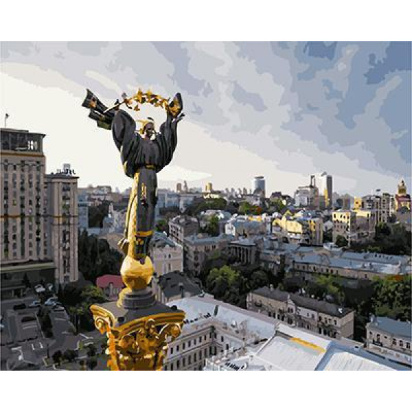 GХ4867 Картина по номерам Оранта, 40х50 см