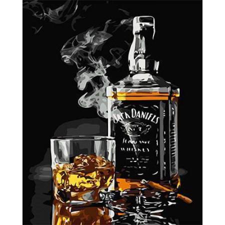 GХ5001 картины по номерам Jack Daniels, 40х50 см