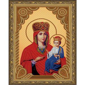 Алмазная мозаика 20х30 CDX 027 Икона Казанская Божией Матери