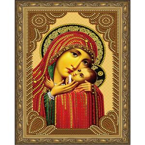 Алмазная мозаика 20х30 CDX 031 Икона Касперовская Божией Матери