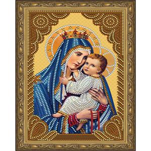 Алмазная мозаика 20х30 CDX 038 Икона Божией Матери