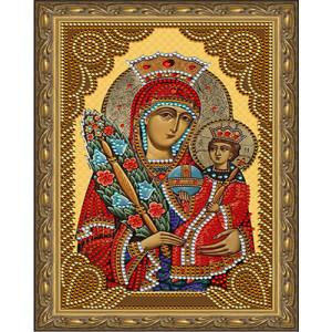 Алмазная мозаика 20х30 CDX 042 Икона Богоматерь