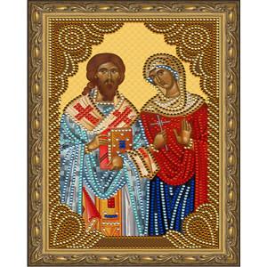 Алмазная мозаика 20х30 CDX 052 Икона православная