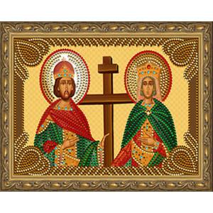 Алмазная мозаика 20х30 CDX 062 Икона Петр и Февронья
