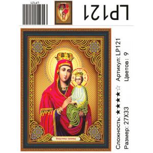 LP 121 Алмазная мозаика Споручница Грешных 27х33см
