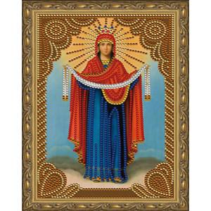 Алмазная мозаика 20х30 CDX 006 Икона Покров Пресвятой Богородицы