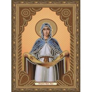 Алмазная мозаика 20х30 CDX 024 Икона Покров Пресвятой богородицы