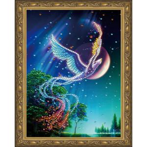 Алмазная мозаика 20х30 CDX 064 Феникс