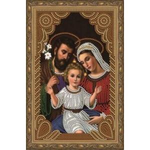 Алмазная мозаика 20х30 CDX 013 Икона Святая семья