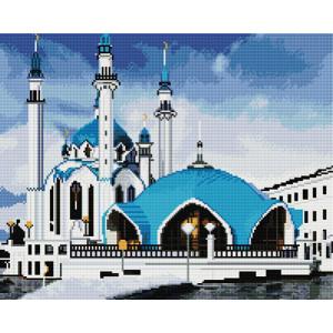 GF 1388 Алмазная мозаика  Казанская мечеть 40х50 см