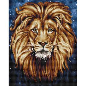 """GF2040 Алмазная мозаика на подрамнике """"Созвездие льва"""" 40х50 см"""