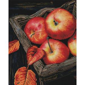 Алмазная мозаика, 40х50, квадратные стразы GF 2810 Осенний урожай